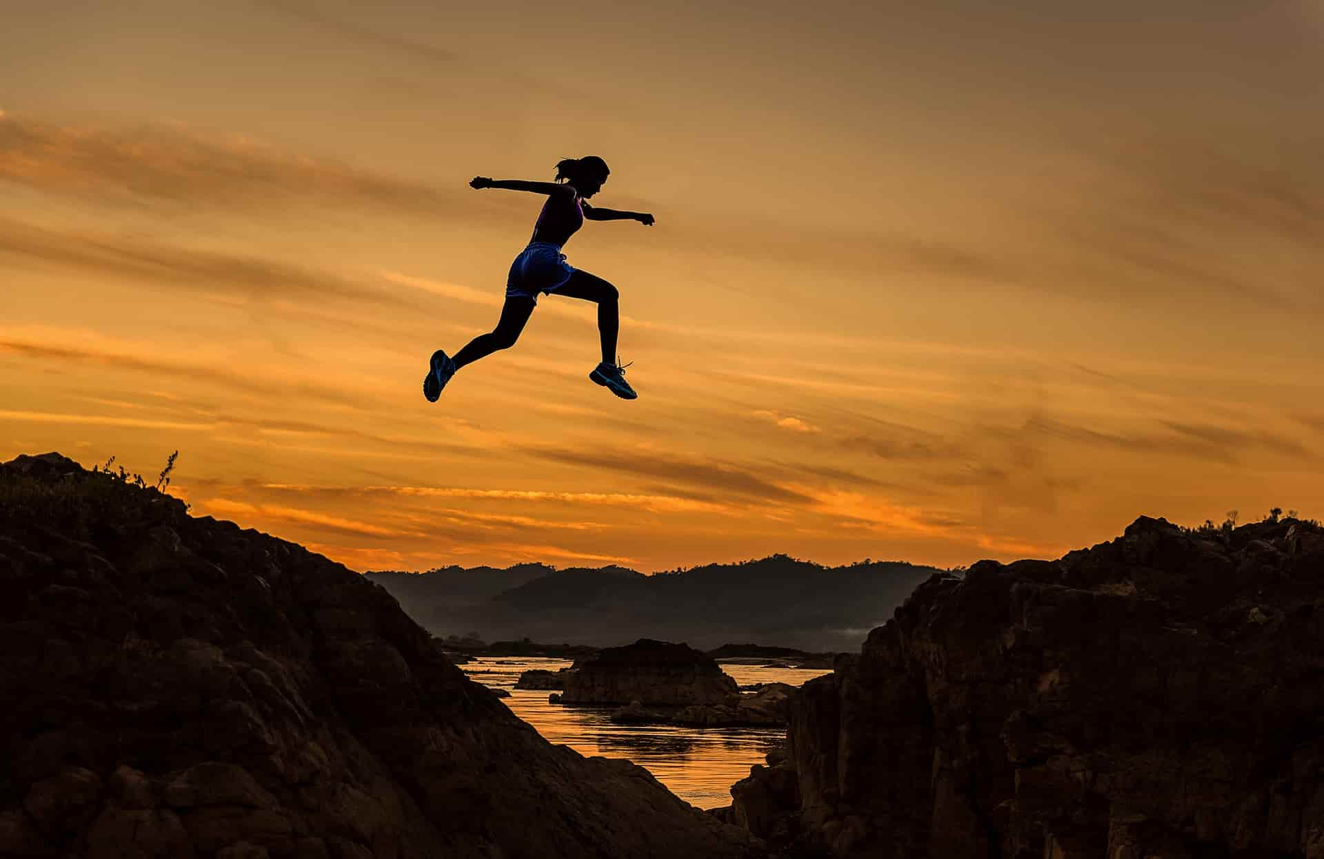 challenge jumping woman_the best decision in my life_my life in germany-min