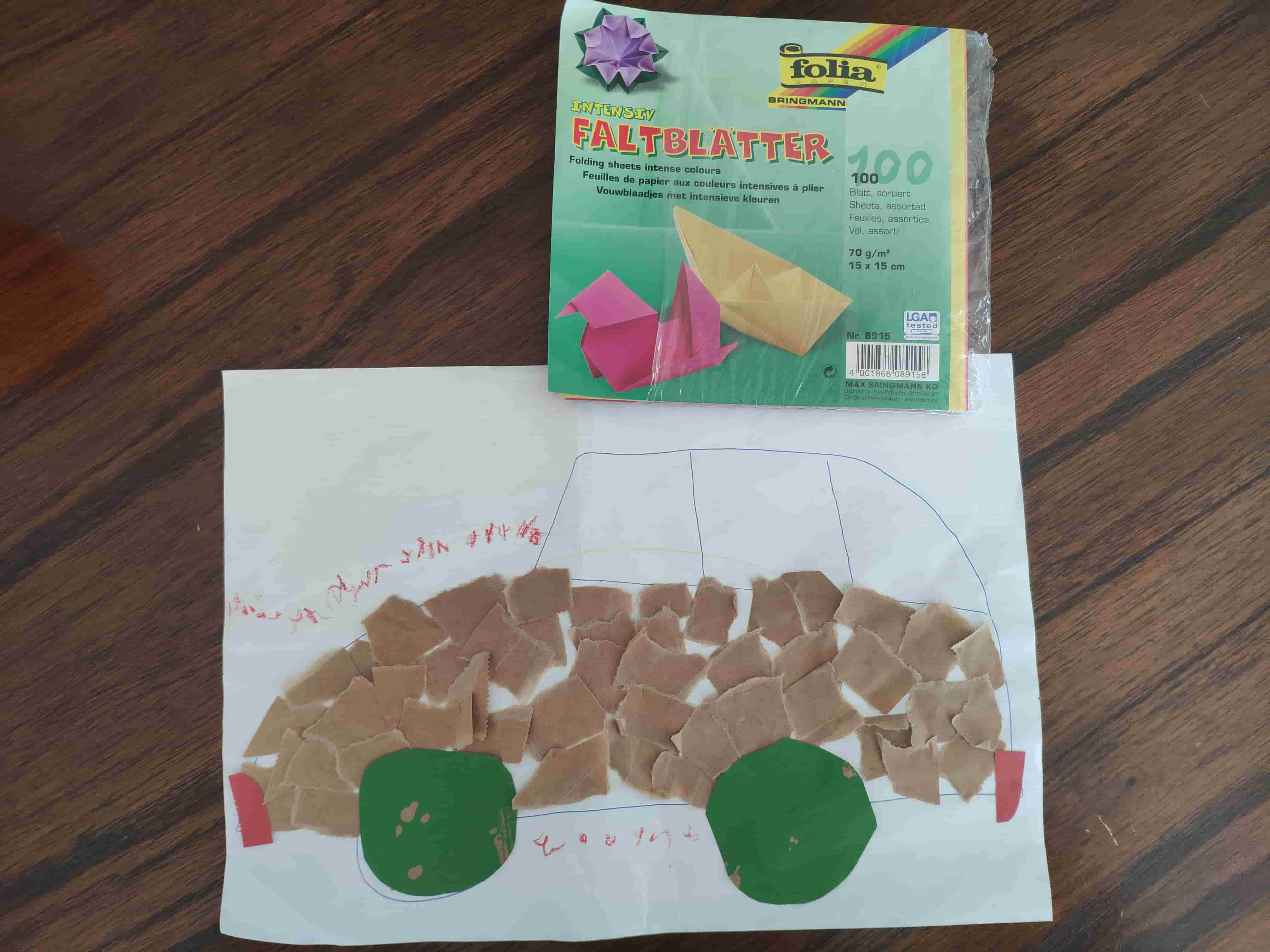 creative artwork toddler glue a car_13 tips for working from home with a toddler_my life in germany_hkwomanabroad-min